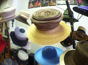 Custom designed hats in Harlem studio